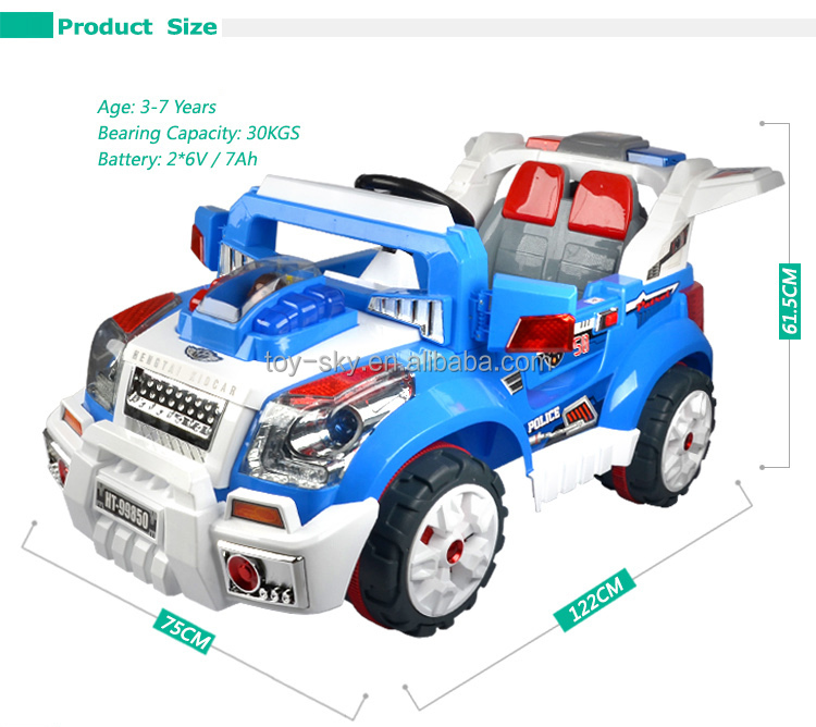 Più nuovo 12 V Doppia Drives R/C off-road all'ingrosso ride on battery operated bambini baby car con MP3