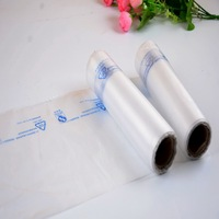 flat plastic bags for food packing bags on roll