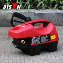 Bison portable mini car electric power high pressure washer jet for home