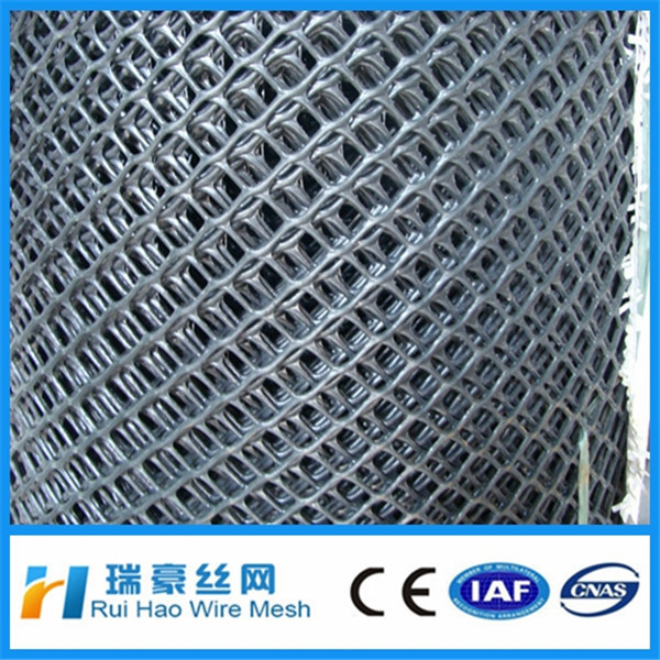 HDPE/ POLY plastic flat wire mesh/plastic plain netting for poultry