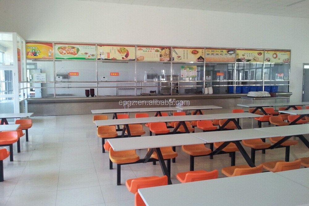 Modern Classroom Design Layout ~ School canteen furniture table and chair
