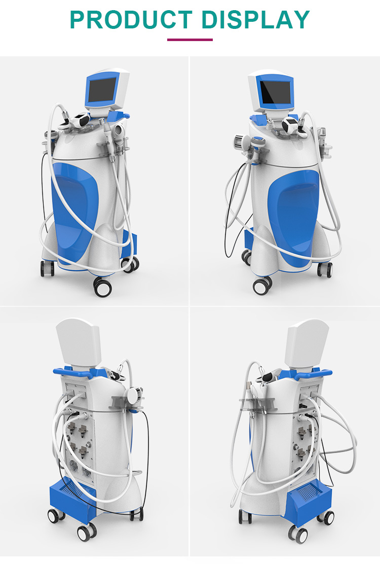 New arrival high quality 800W Velashape machine for whole body shaping