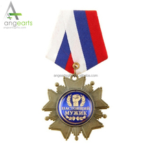 Custom Bronze metal souvenirs casting 3d miraculous medal cheap award sports medals