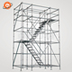 The Building Material Steel Q235 Q345 EN12811 Galvanized Ringlock Scaffolding Construction Scaffolding Exporter