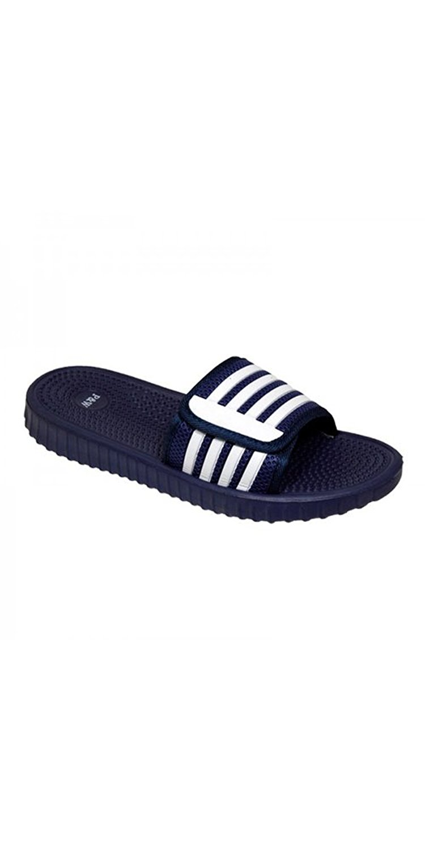 2a438742b34b47 SLR Brands Men s Slides Slip On Sandal Slipper Comfortable Shower Beach Shoe  Flip Flop