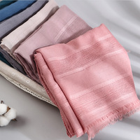 cotton and hemp hollow out scarf muslim hijab fashion scarf malaysia arab hijab