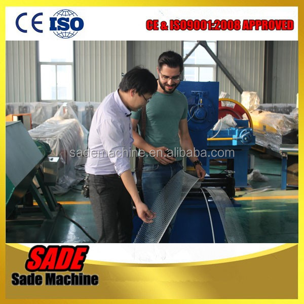 expanded metal machine high speed