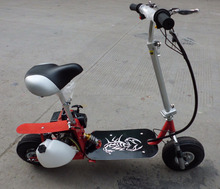 Pieghevole Gas Scooter <span class=keywords><strong>49cc</strong></span> con E-start per Adulti