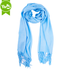 solid color thin silk scarf women