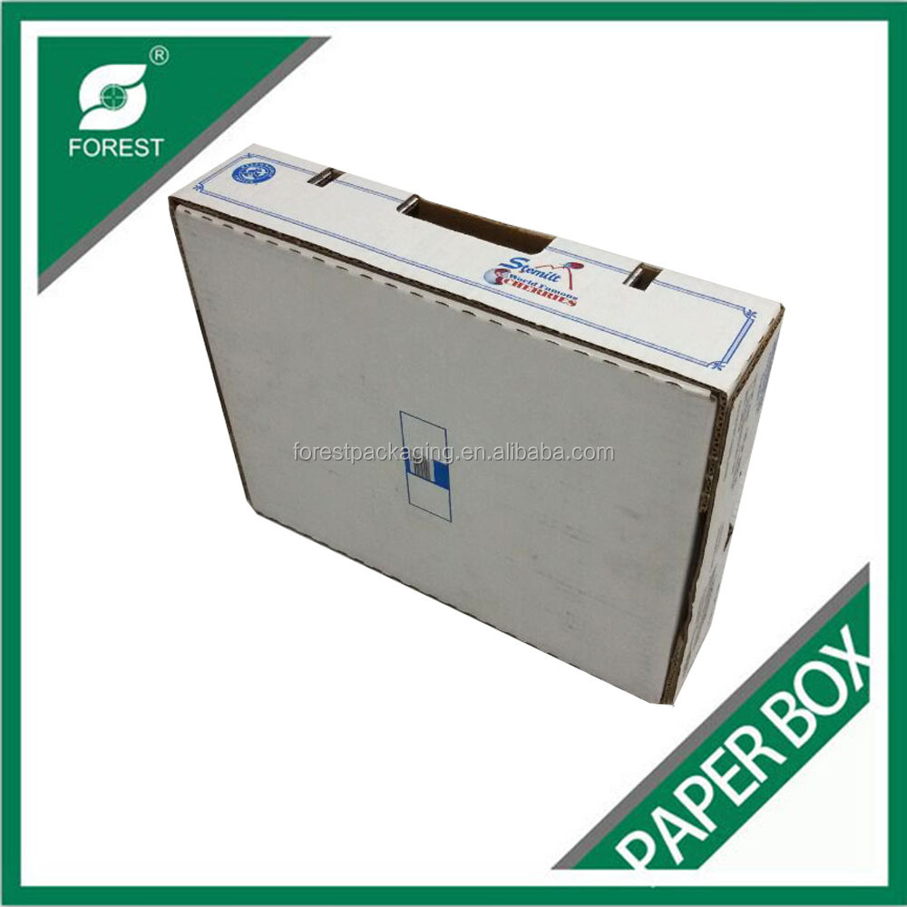 FACTORY PRICE CORRUGATED WAX DIPPED PAPER PACKAGING BOX WAX COATED PAPER CARTONS