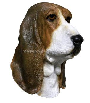 Latex Costume Halloween Details Dog Adult Bowser Basset Hound