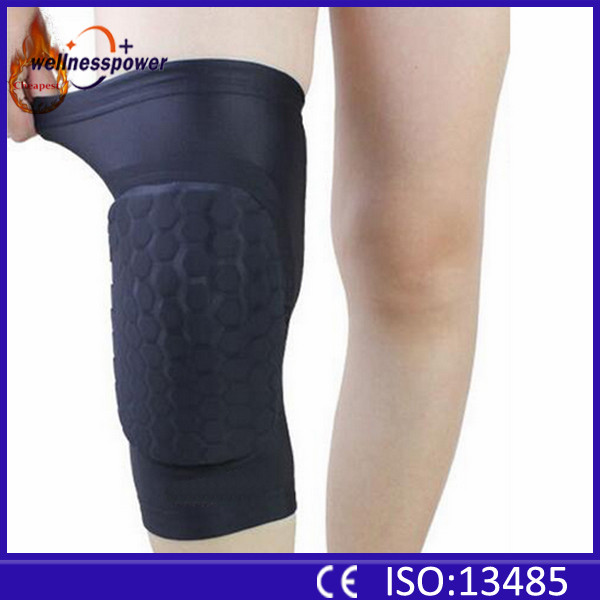 McGrady was playing protect knee honeycomb basketball knee sleeve