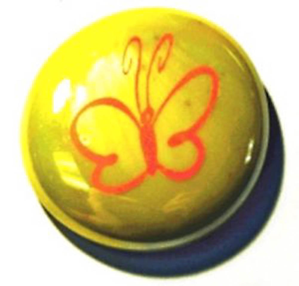 Butterfly Colored Glass Imprinted Recovery Sobriety Stones