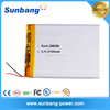 China Supplier 288088 3.7 Volt 2100mAh Li-polymer Rechargeable battery