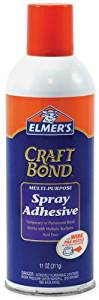 Elmers Craft Bond Multi-Purpose Spray Adhesive-11 - Elmers Craft Bond Multi-Purpose Spray Adhesive-11 Ounceselmers-Craft Bond Multi-Purpose Spray Adhesive In An 11 Ounce Spray Can. Temporary Or Perma