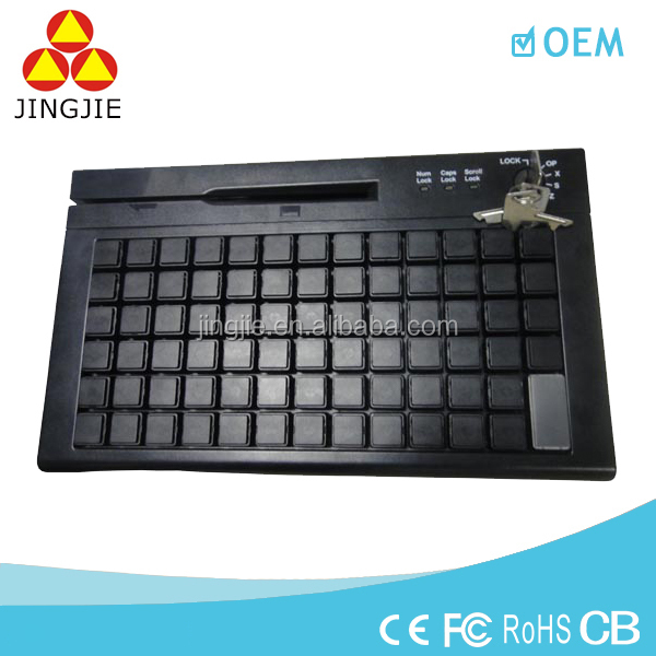 JJ-KB01 touch screen programmable keyboard,usb programmable keyboard,pos keyboard