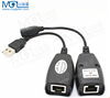 wiring usb2.0 to RJ45 cable/USB RJ45 Lan Ethernet Extender Repeater Extension 150 Feet