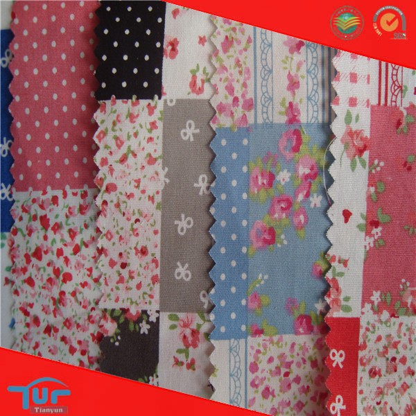 Hot New Products Fashion Printed Japanese Cotton Voile Fabric