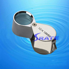 MG55366 10x Pocket Glass Lens Jewellery Magnifier