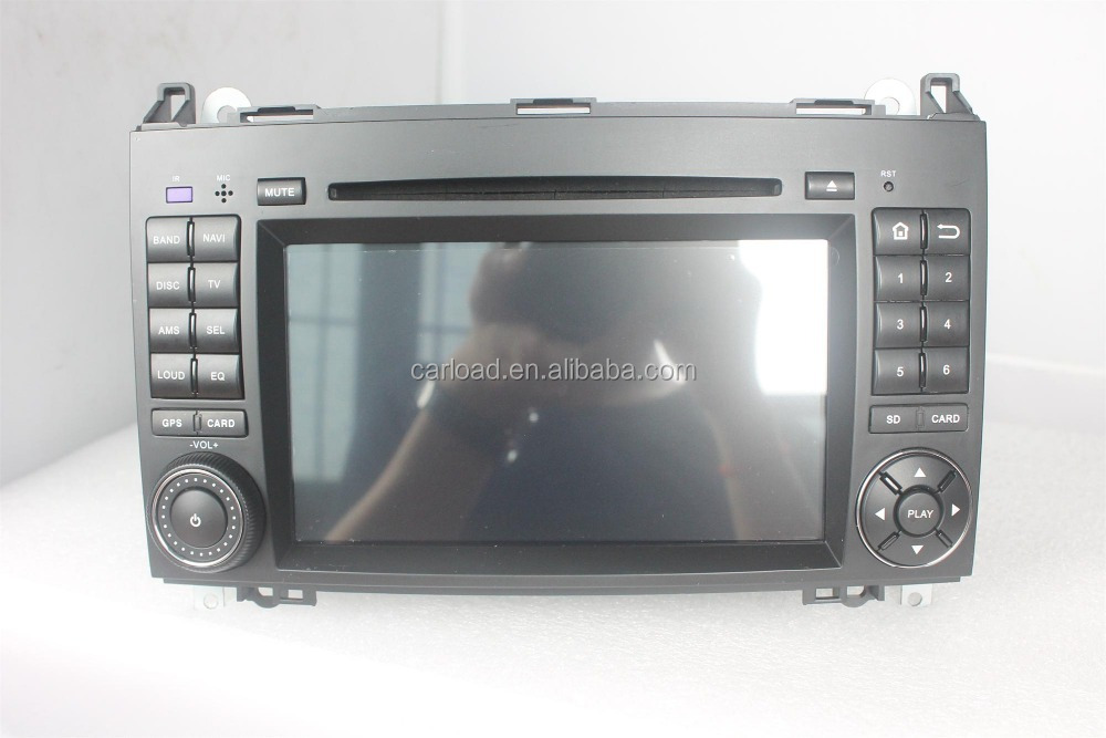 2 din wince car dvd for mercedes w169 with iPod, dvd, bt, usb, Radio, analog tv, steering wheel control