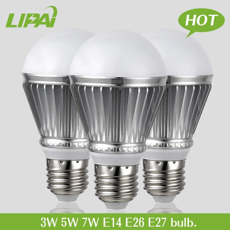 Hot sale high power warm white 3W 5W bulbs led with high level 12V 24V 110V 120V
