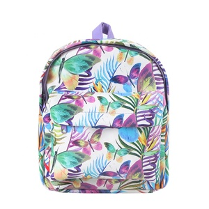 d07f9335da0d Custom Fashion Butterfly Series PU Leather Printed Backpack