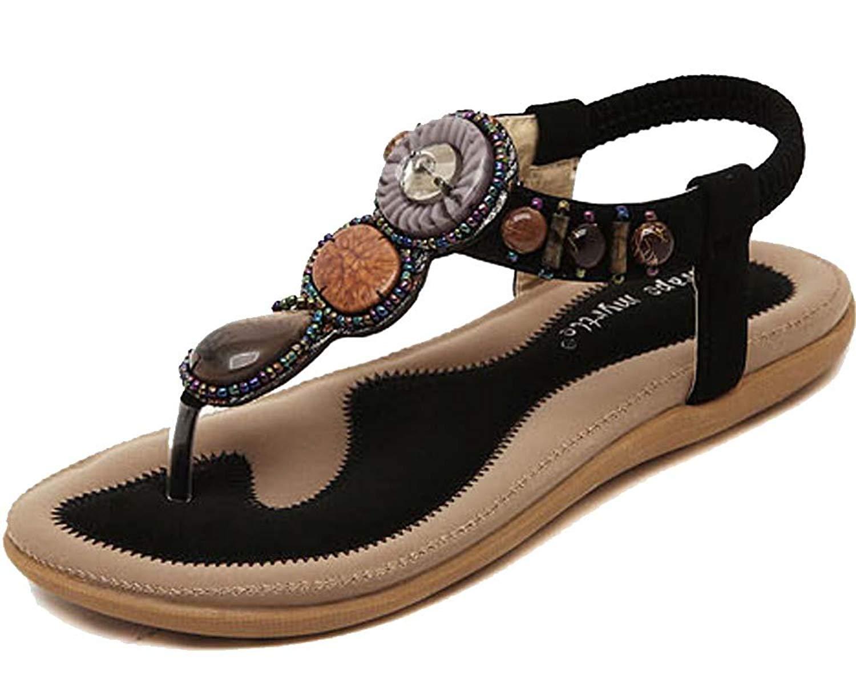 fa0b9814934ee0 Kufv Womens Ladies Summer Thong Sandals Flats Toe Post Flip Flops Casual  Shoes