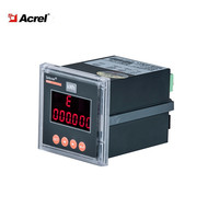 ACREL PZ72-DE/K DC led display digital power factor Meter measure U I P KWH with 2DI/2DO