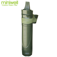 camp essentials miniwell portable water filter for Outfitter