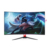 CNHOPESTAR Ultra-thin 32 inch curved display 144hz 2k LED gaming monitor DP DVI