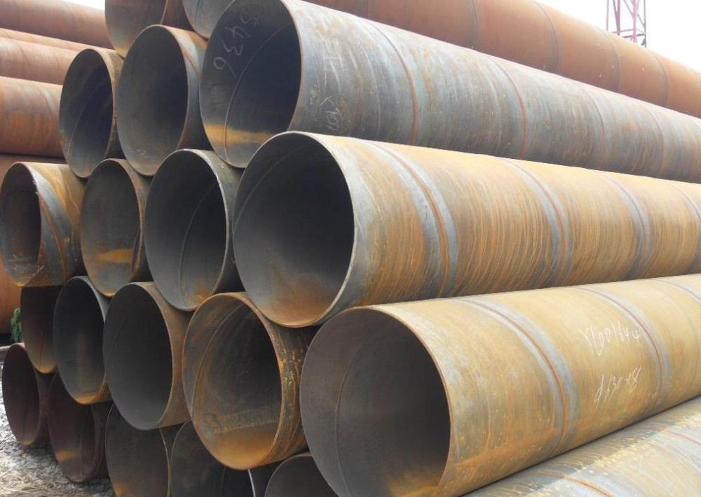 Accepted customized galvanized welded spiral steel pipe