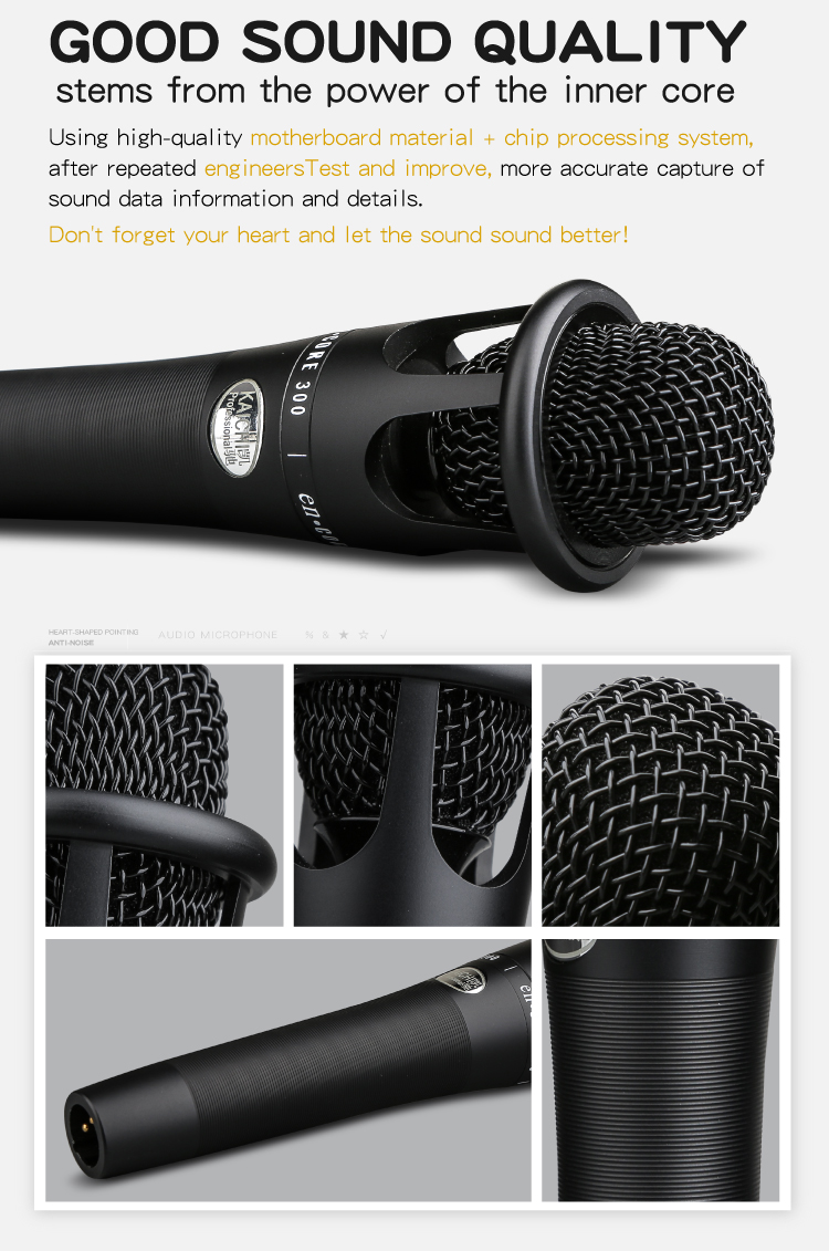 K-513 profession microphone mobile phone live karaoke