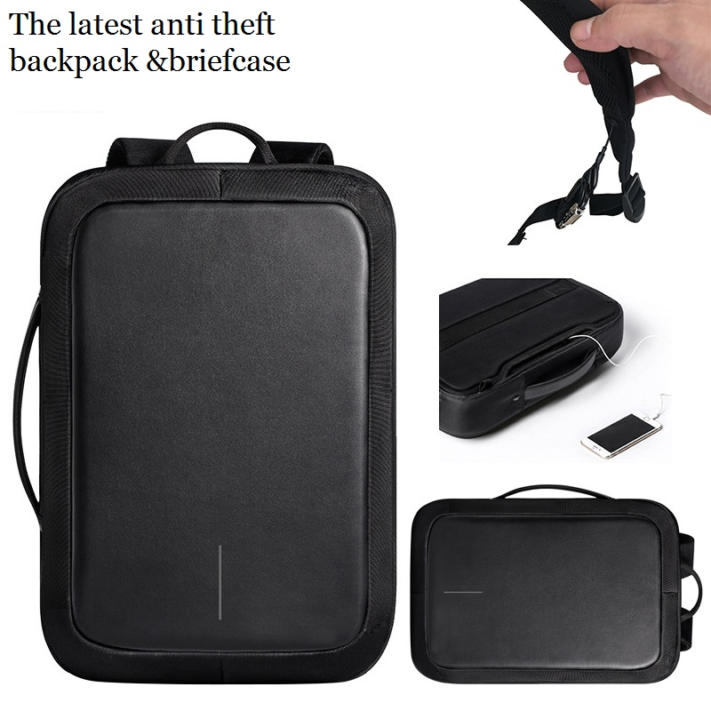 Design smart anti theft thief USB charging water proof mochila day knapsack bagpack rucksack laptop backpack back pack bag