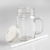wholesale clear  glass jar  juice glass bottle mason jar with the  handle