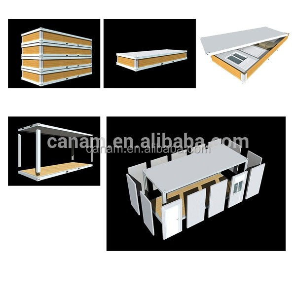 Stable structure prefab house low cost prefabricated kit house