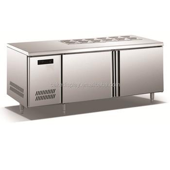 tisch mit kühlschrank