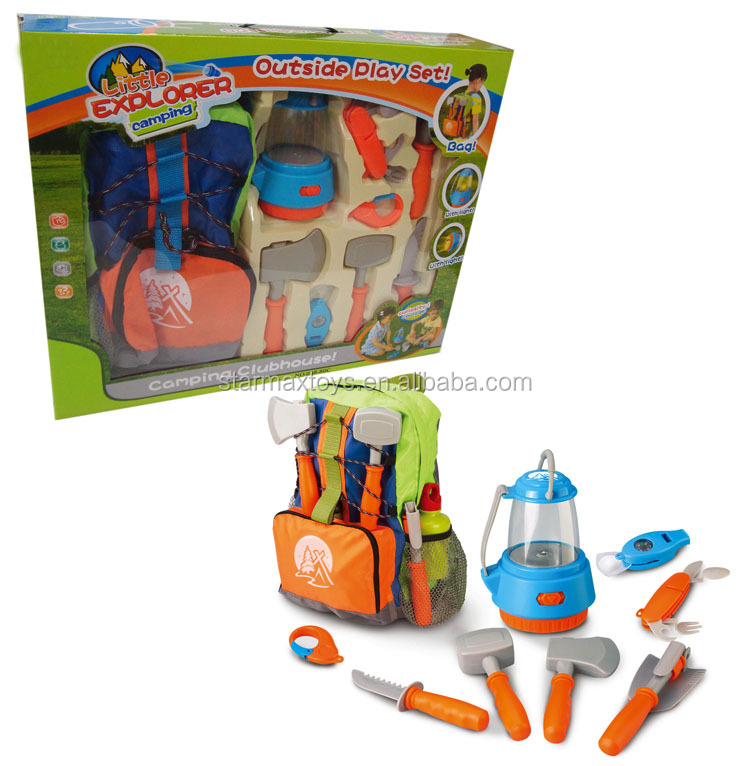 Outdoor Camping Tool Set Toys With Bag