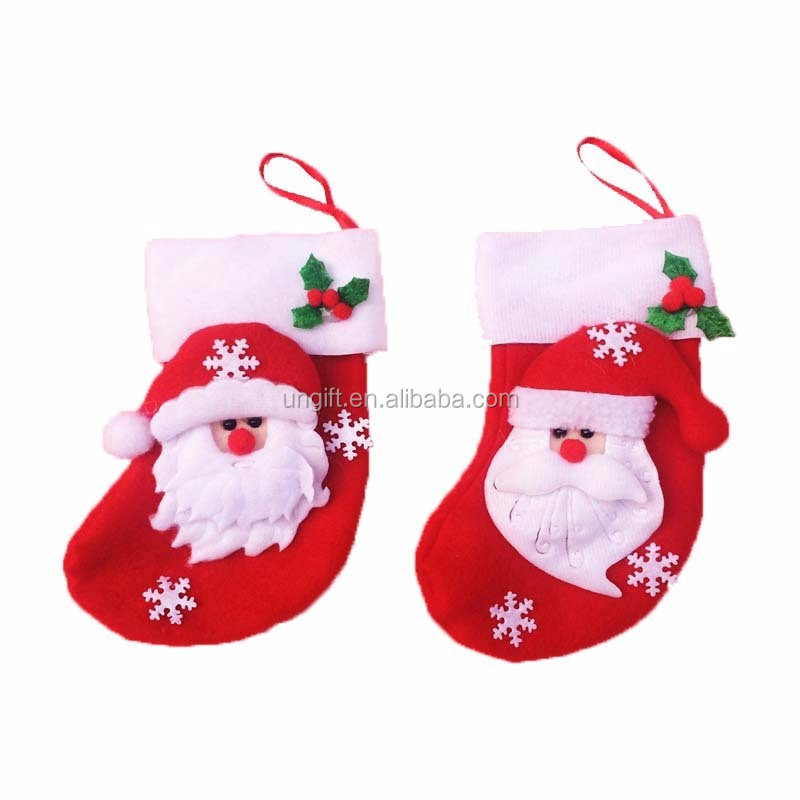 Christmas decorative sock Ornaments Festival Party Tree Hanging Decoration