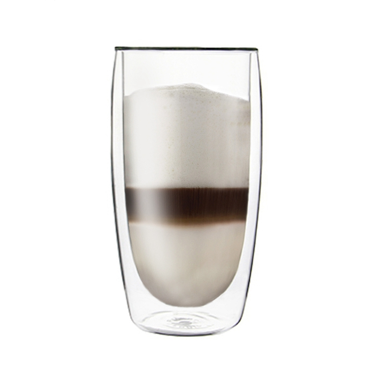 Double heat resistant borosilicate 350ml Latte Mug Coffee <strong>Cup</strong>
