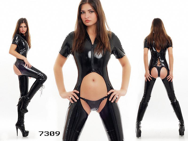 Sex In Catsuit 28