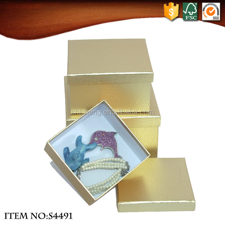 Gold custom logo fancy paper shoe package box