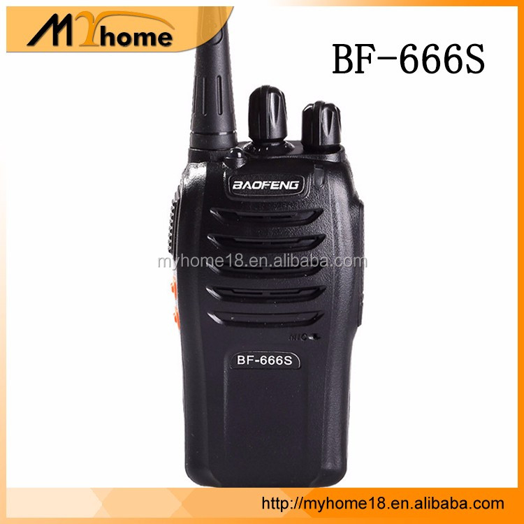 Factory Price Portable Baofeng BF-666S Talkie Walkie UHF&VHF FM Interphone 5W Two Way Radio