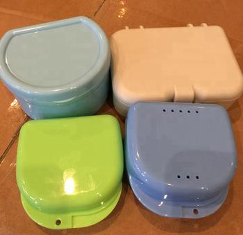 2017 Gogo Plastic Denture Box Mouth Tray Storage Case Dental Mold Storage  Case - Buy Denture Box,Denture Box,Denture Storage Box Product on