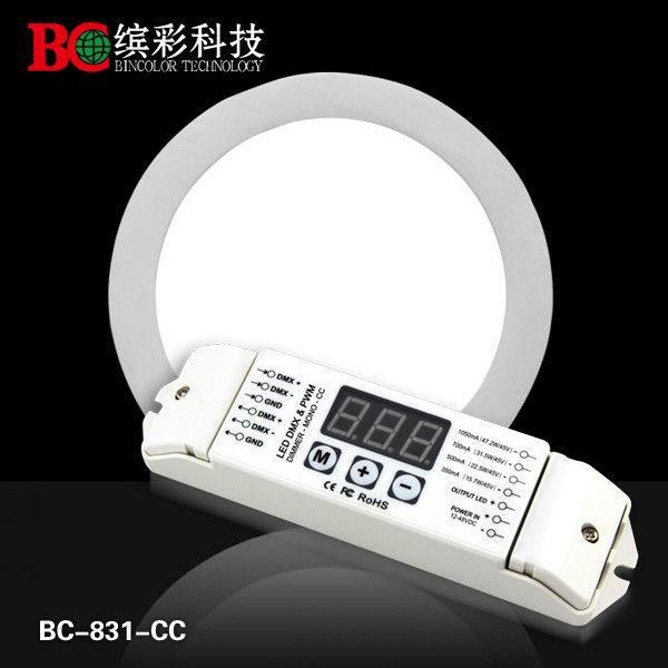BC-831-CC constant current led light 1 channel dmx dimmer