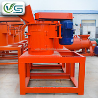 High efficiency chain crusher for organic and compound fertilizer/vertical chain crusher for fertilizer