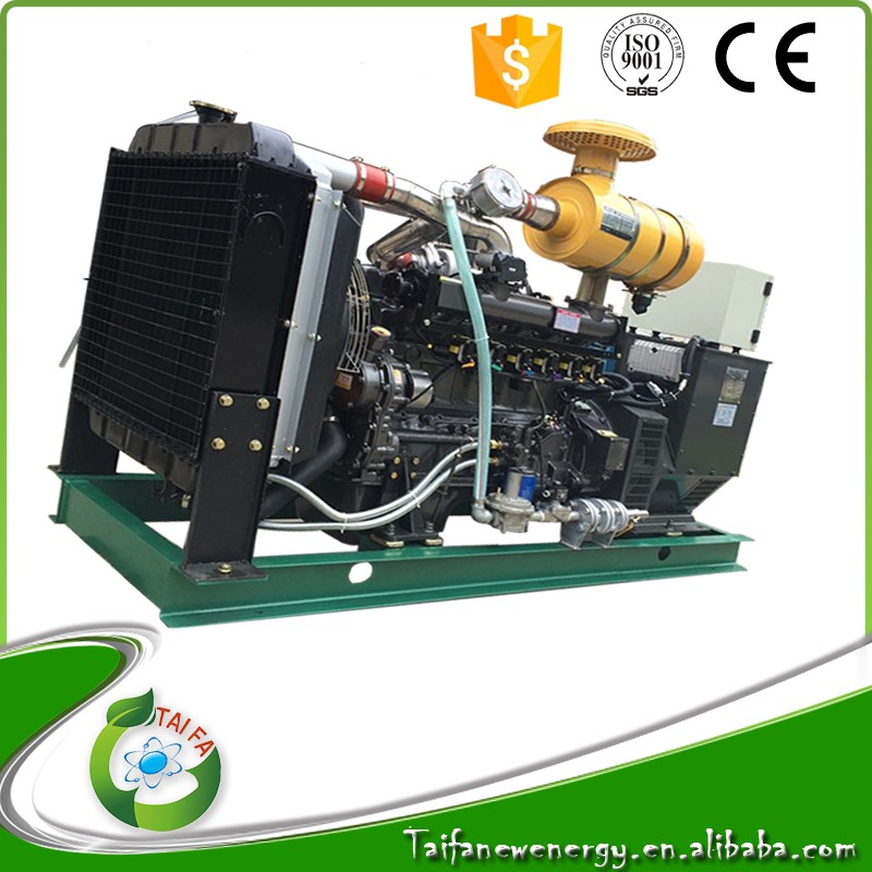 Special offer 50kw biogas generating set with ISO certification