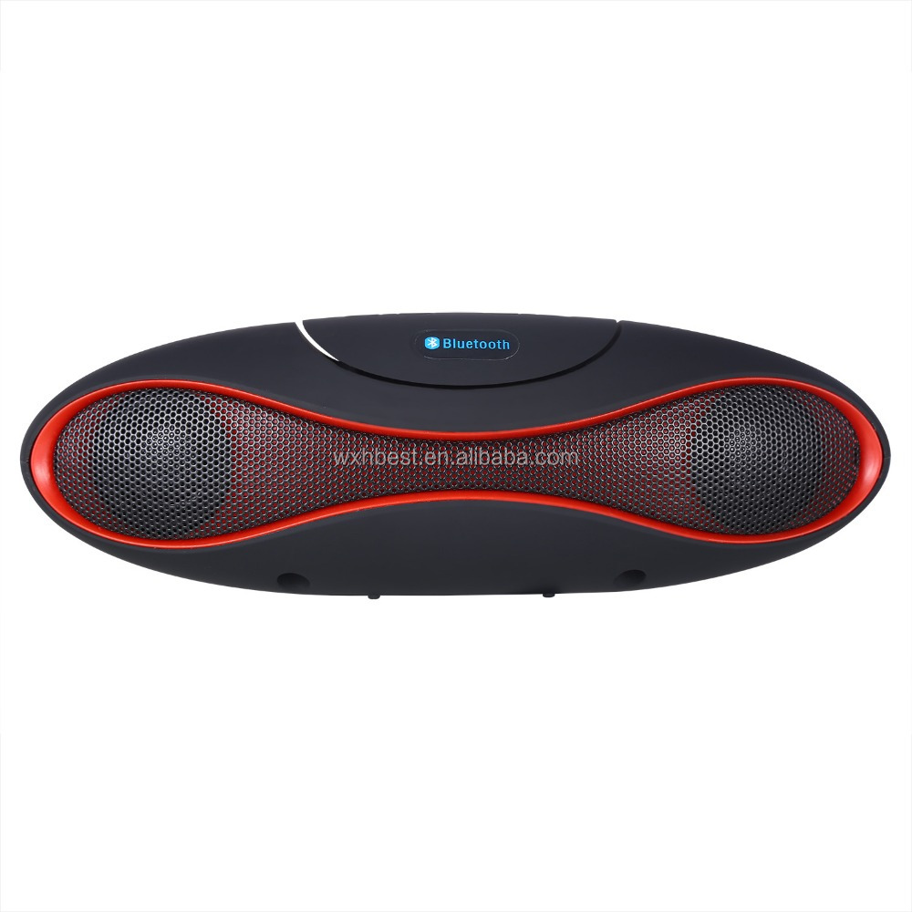 Hot Selling High Quality 600mAh Dual Clear Voice Rugby Bluetooth Speaker Stereo Subwoofer Wireless Bluetooth Speaker