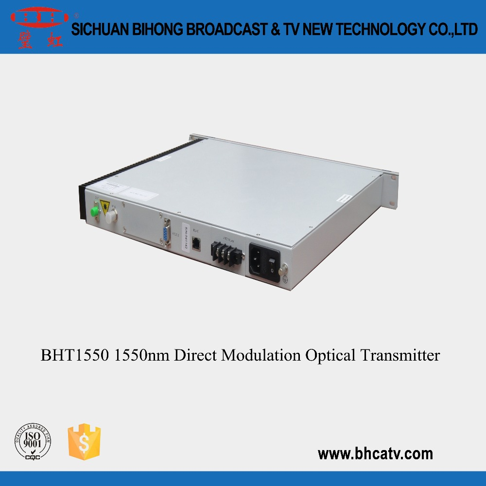 1550nm TV RJ45 standard network management interface high-performance microprocessor catv directly modulated optical transmitter