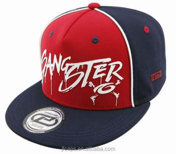 gangster rubber print mini-ottoman snapback hiphop flat cap and hat ... b91f03ccc2b8