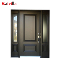 New design cheap wooden main doors prices